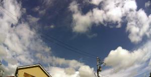 本日の空模様